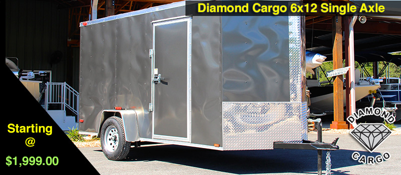 6x12 Diamond Cargo Enclosed Trailers